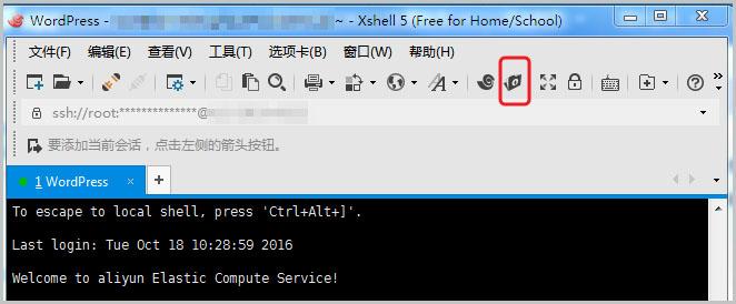 Xshell新建文件传输