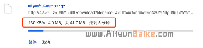阿里云1Mbps实际下载速度