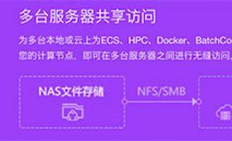 阿里云NAS文件存储100GB存储包99元 高性能NAS plus免费试用